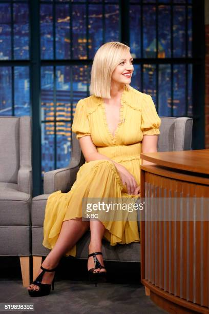 Actress Abby Elliott during an interview on July 19 2017