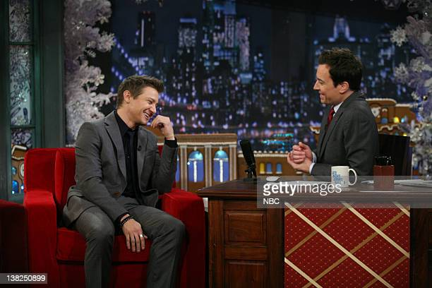 Jeremy Renner in an interview with Jimmy Fallon on December 19 2011
