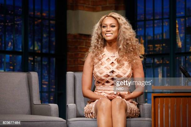 Tyra Banks during an interview on July 27 2017