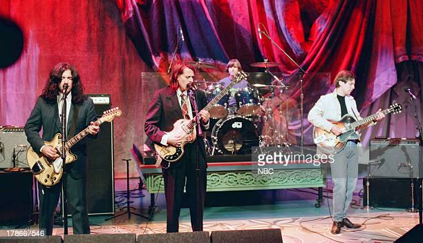 Jon Auer Ken Stringfellow Jody Stephens and Alex Chilton of musical guest Big Star perform on October 31 1994
