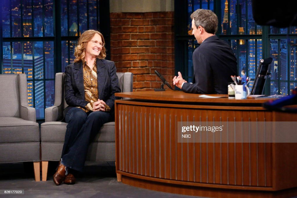 "NBC's ""Late Night With Seth Meyers"" With Guests John Krasinski, Melissa Leo, Congressman Adam Schiff"