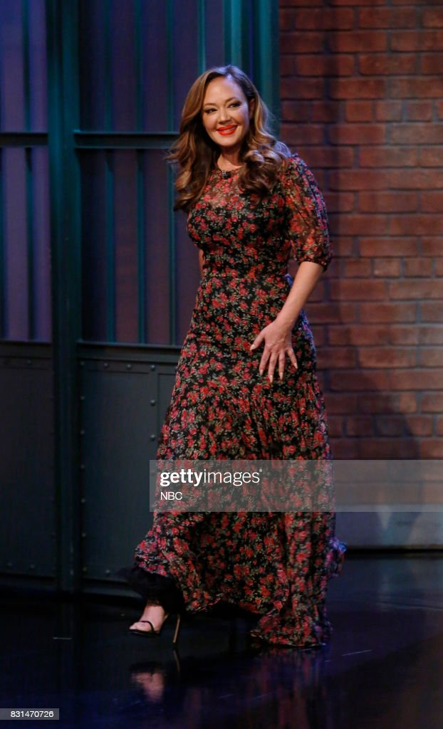 "NBC's ""Late Night With Seth Meyers"" With Guests Kenan Thompson, Leah Remini, Bryan Fogel, Band Sit In: Roy Mayorga"