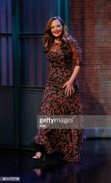 Actress Leah Remini arrives on August 14 2017