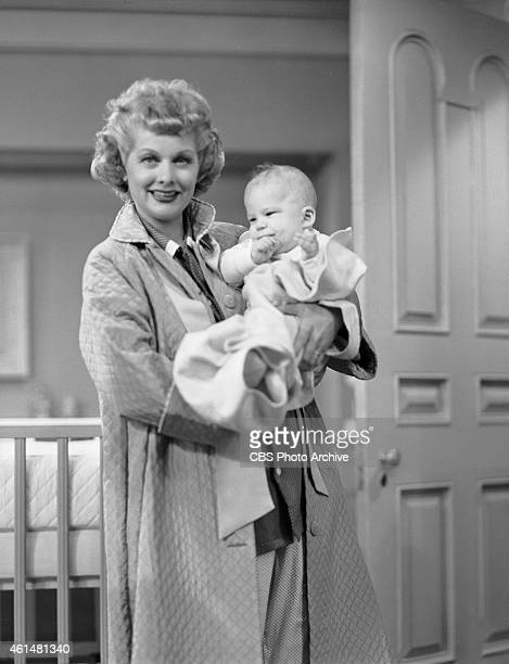 Lucy Episode 57 No Children Allowed Shown Here Lucille Ball As Ricardo Holding