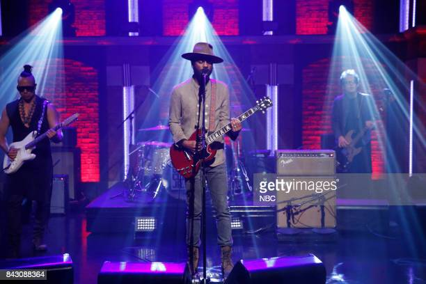 Musical guest Gary Clark Jr performs on September 5 2017