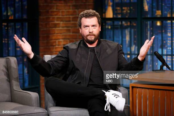 Actor Danny McBride during interview on September 11 2017
