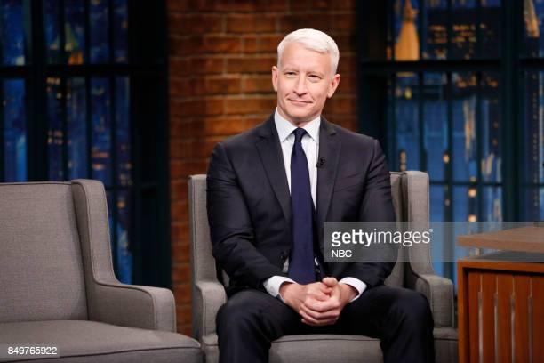 CNN's Anderson Cooper during an interview on September 19 2017