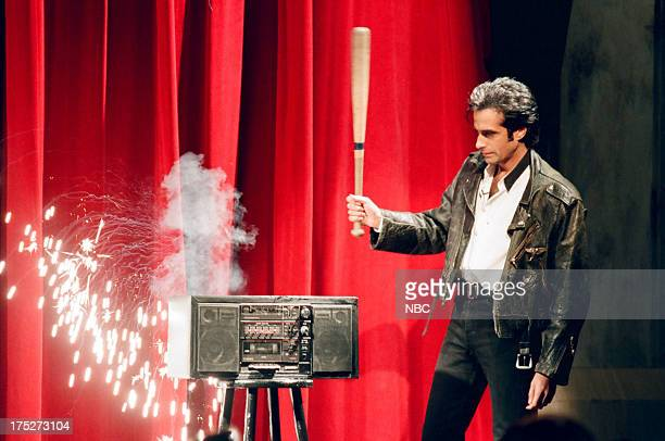 Magician David Copperfield performs on November 24 1994