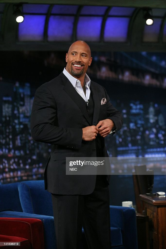 Dwayne Johnson In An Interview With Jimmy Fallon On February