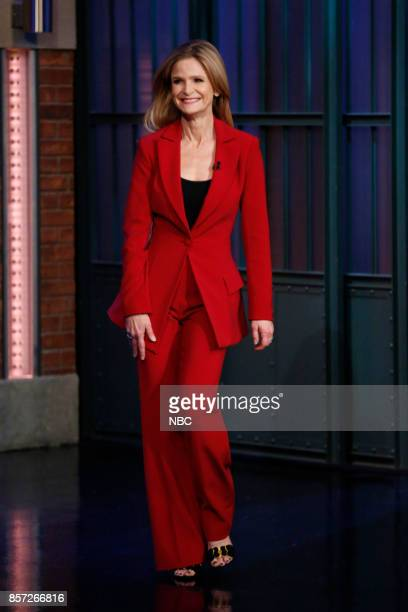Actress Kyra Sedgwick arrives on October 3 2017