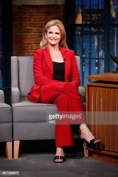 Actress Kyra Sedgwick during an interview on October 3 2017