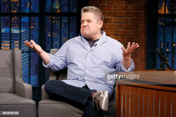 Comedian Patton Oswalt during an interview on October 12 2017