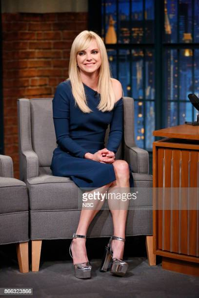 Actress Anna Faris during an interview on October 24 2017