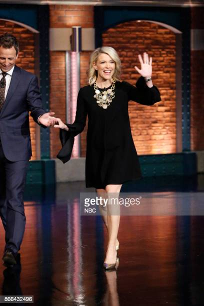 TODAY show host Megyn Kelly arrives on October 25 2017