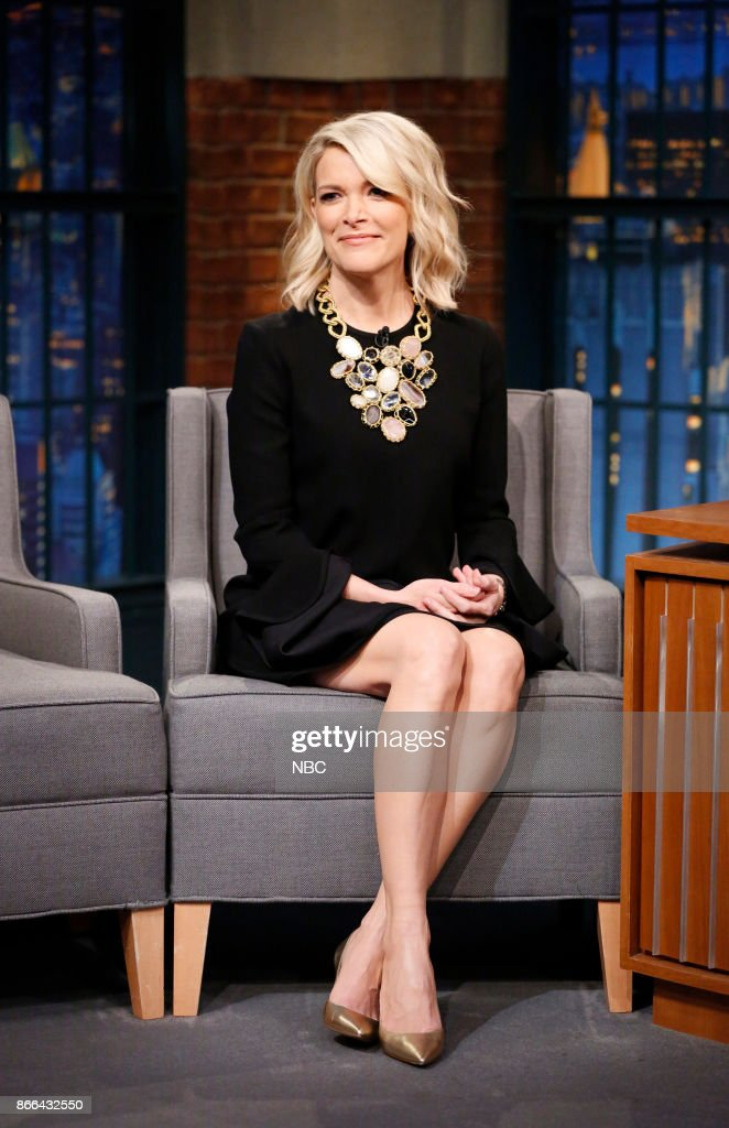 """NBC's """"Late Night With Seth Meyers"""" With Guests Megyn Kelly, Nathan Fielder, Colton Dunn"""