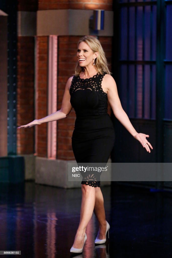 "NBC's ""Late Night With Seth Meyers"" With Guests Liev Schreiber, Cheryl Hines, Mikey Day"