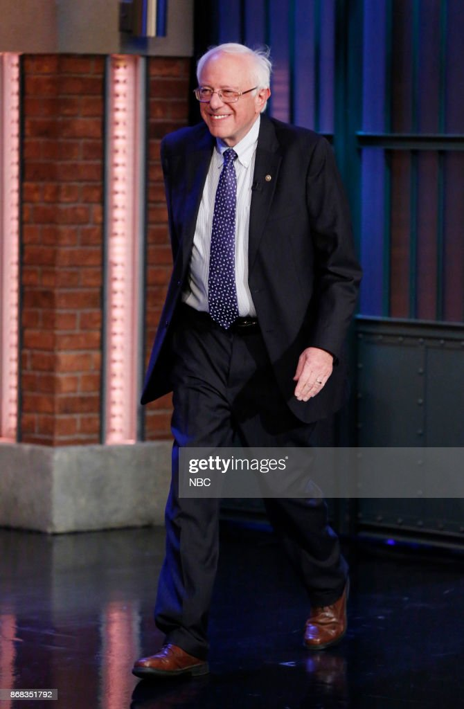 "NBC's ""Late Night With Seth Meyers"" With Guests Heidi Klum, Senator Bernie Sanders, Imagine Dragons"