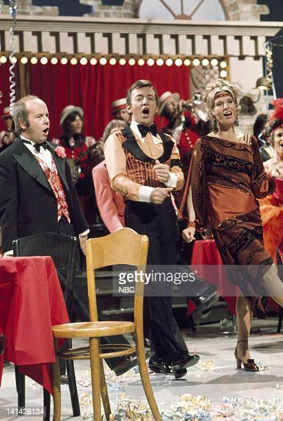 Episode 6 -- Air Date --Pictured: Actor Tim Conway, singer Bobby Darin, actress Cloris Leachman perform on February 23, 1973 -- Photo by: Fred...
