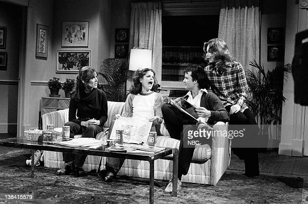 LIVE Episode 6 Air Date Pictured Carrie Fisher as Joan Loud Gilda Radner as Jean Loud Bill Murray as Mr Loud Jane Curtin as Mrs Loud during 'The loud...
