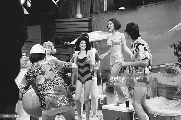 LIVE Episode 6 Air Date Pictured Gilda Radner as Annette Funicello Carrie Fisher as Princess Leia during Beach Blanket Bimbo from Outer Space skit on...