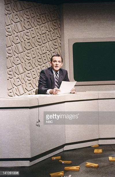 Brian DoyleMurray during 'Weekend Update' on November 14 1981 Photo by Al Levine/NBCU Photo Bank