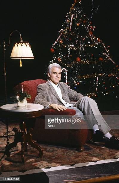 Steve Martin during the 'A Holiday Wish' skit on December 6 1986 Photo by Al Levine/NBC/NBCU Photo Bank