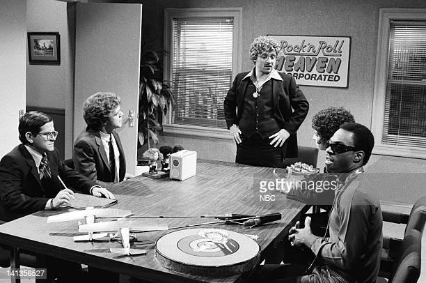 Tim Kazurinsky as Al Joe Piscopo as Jerry Brian DoyleMurray as Colonel Tom Parker Robin Duke as Maureen Eddie Murphy as Greg during the 'Rock 'n Roll...