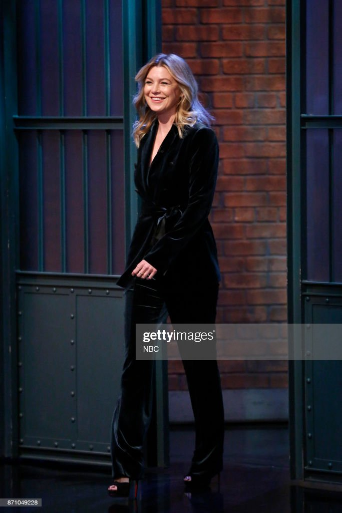"NBC's ""Late Night with Seth Meyers"" With Guests Ellen Pompeo, John Leguizamo, Jhene Aiko"