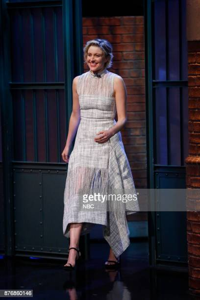 Actress Greta Gerwig arrives on November 20 2017