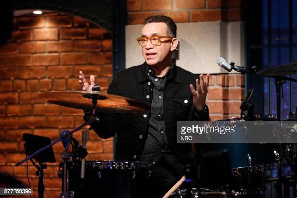Fred Armisen of the 8G Band on November 21 2017