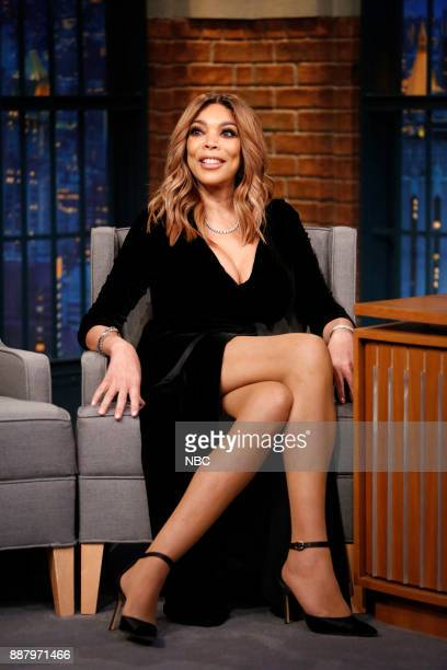 Wendy Williams during an interview on December 7 2017