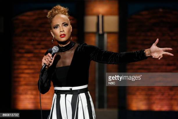 Comedian Amanda Seales performs on December 11 2017