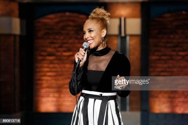 Comedian Amanda Seales performs on December 11 2017