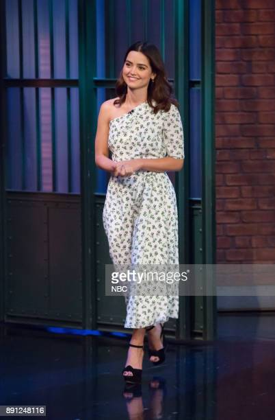 Actress Jenna Coleman arrives on December 12 2017