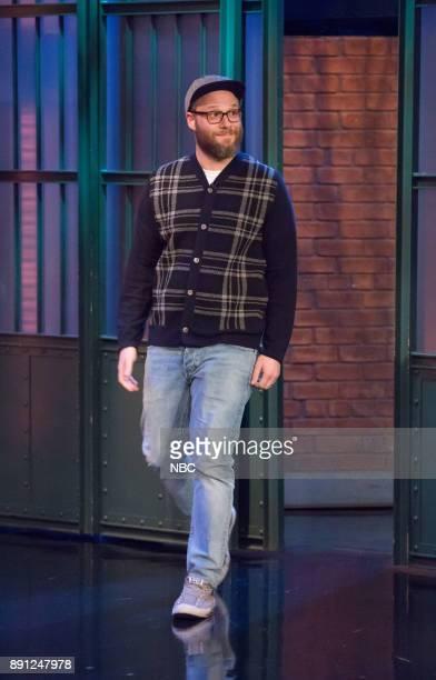 Comedian Seth Rogen arrives on December 12 2017
