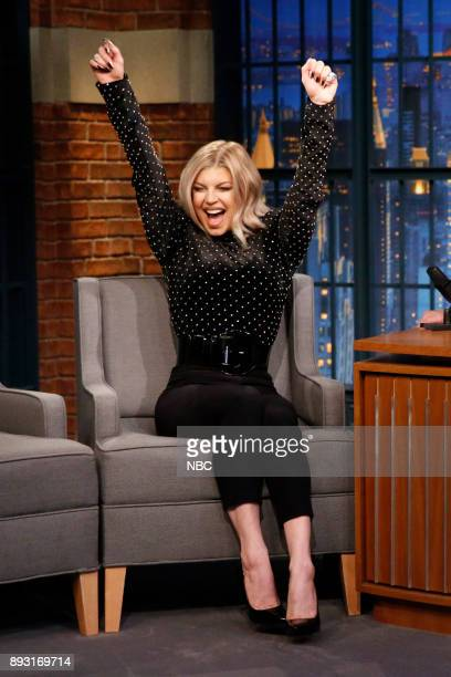 Musical guest Fergie during on December 14 2017