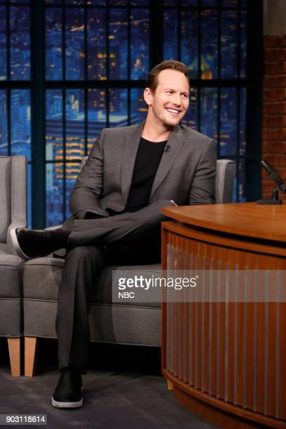 Actor Patrick Wilson during an interview on January 9 2017