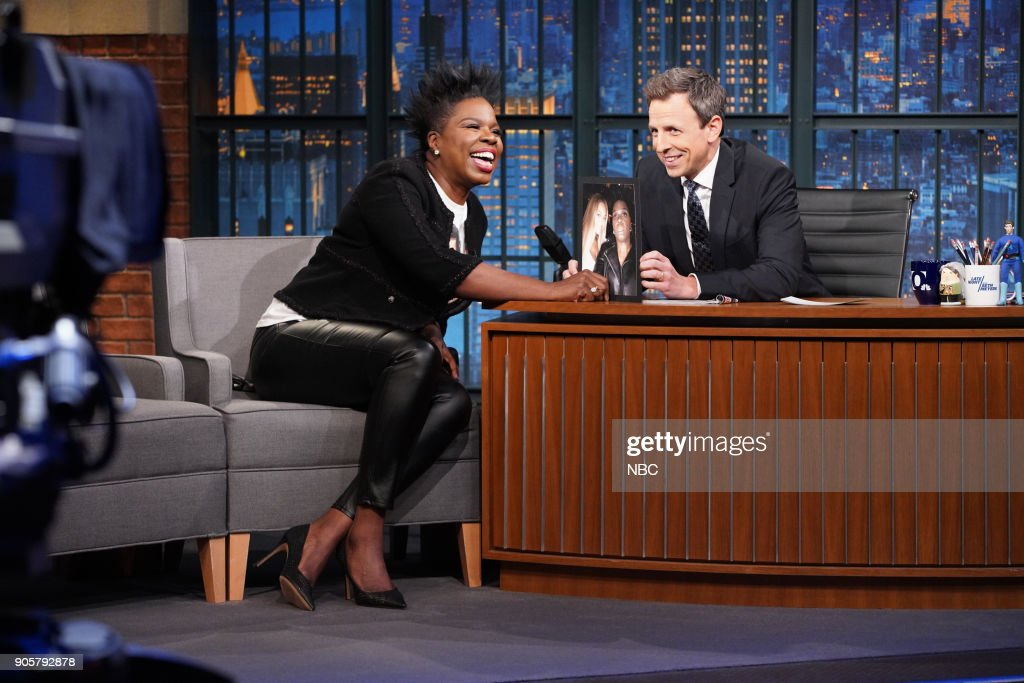 "NBC's ""Late Night With Seth Meyers"" With Guests Leslie Jones, Tracy Letts, Esther Povitsky"