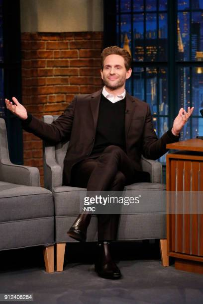 Actor Glenn Howerton during an interview on January 30 2018