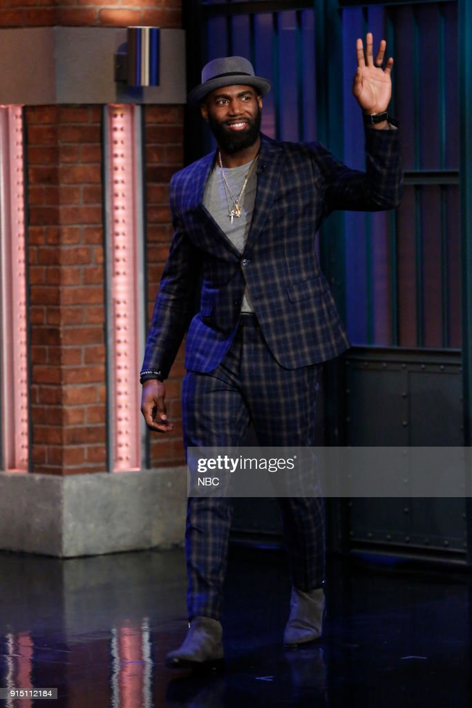 "NBC'S ""Late Night With Seth Meyers"" With Guests James Spader, Whitney Cummings, Malcolm Jenkins"