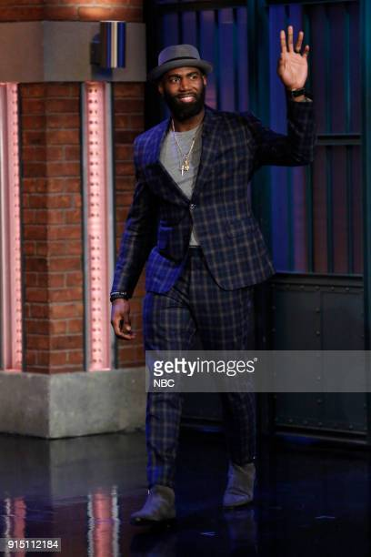 Philadelphia Eagles Malcolm Jenkins arrives on February 6 2018