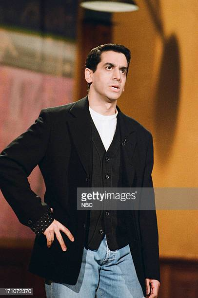 Comedian Jeff Cesario performs on March 13 1995