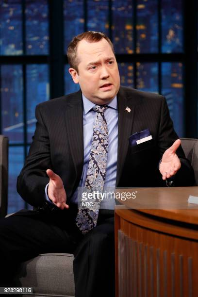 John Lutz as Sam Nunberg during a sketch on March 6 2018