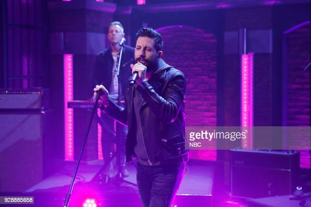 Matthew Ramsey of musical guest Old Dominion performs on March 7 2018