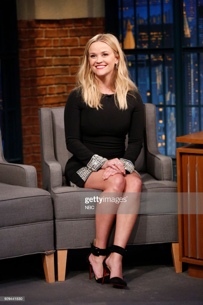 Actress Reese Witherspoon during an interview on March 8, 2018 --