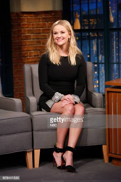Actress Reese Witherspoon during an interview on March 8 2018