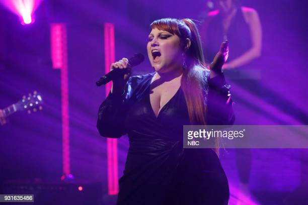 Musical guest Beth Ditto performs on March 13 2018