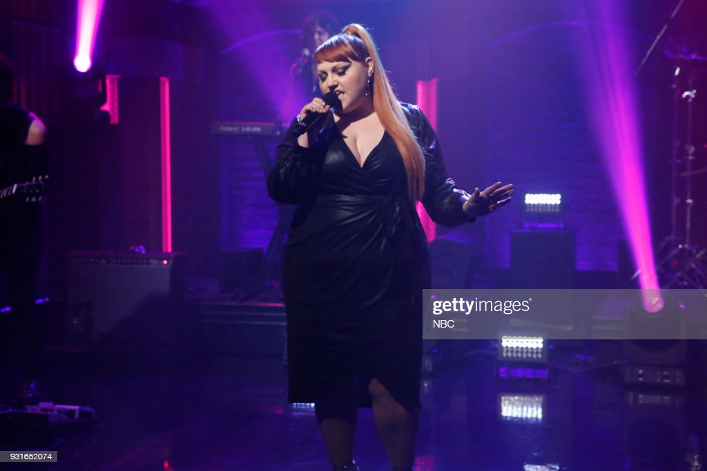 Musical guest Beth Ditto performs on March 13, 2018 --