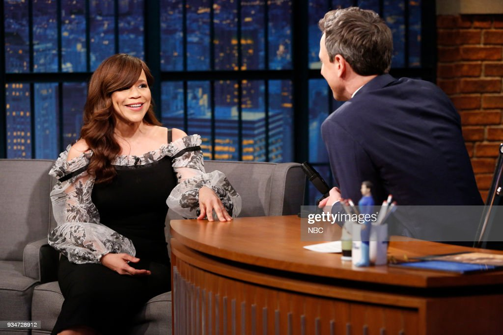 "NBC's ""Late Night With Seth Meyers"" With Guests Late Night with Seth Meyers - Bill Hader, Rosie Perez, Tayari Jones"