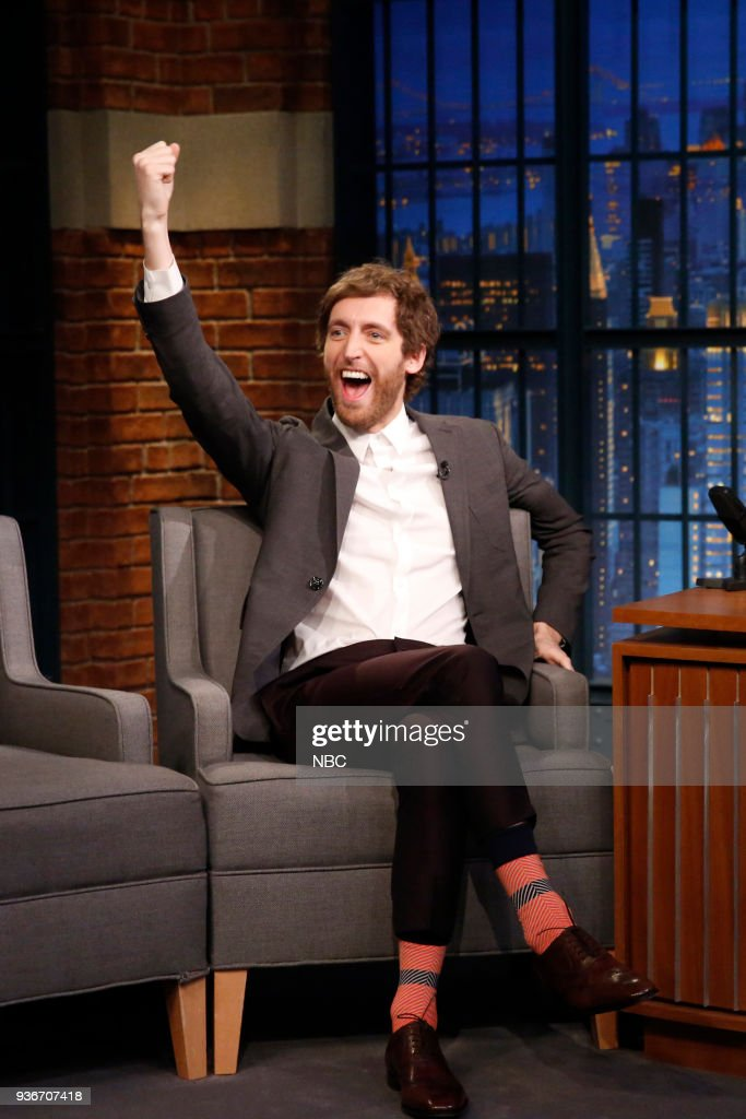 "NBC'S ""Late Night With Seth Meyers"" With Guests Taraji P. Henson, Thomas Middleditch, YUNGBLUD"